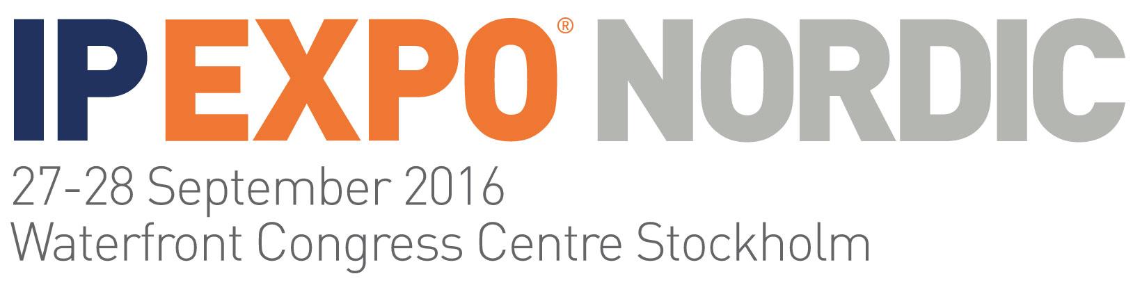 IP EXPO Nordic för första gången i Stockholm 1