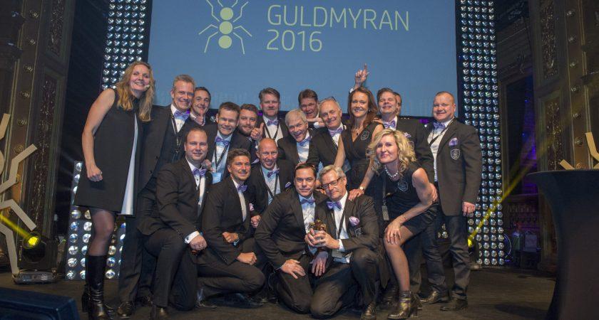 HP och Hewlett Packard Enterprise premierar sina partners med Guldmyran
