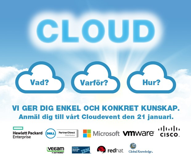 Tech Data bjuder in till Cloudevent - Skofabriken 1