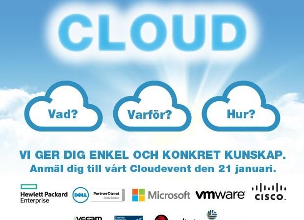 Tech Data bjuder in till Cloudevent – Skofabriken