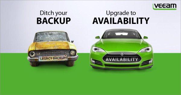 Förenklad backuphantering och minskade kostnader med Veeam Availability Suite v9