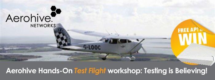 Aerohive Hands-On Test Flight workshop  1