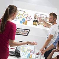 Captech tar in Barco för enklare mötespresentationer