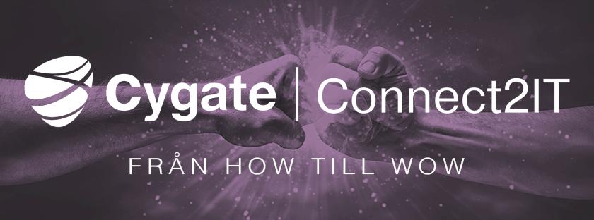 Vi vill träffa dig på Connect2IT i Malmö, Göteborg eller Stockholm i oktober!