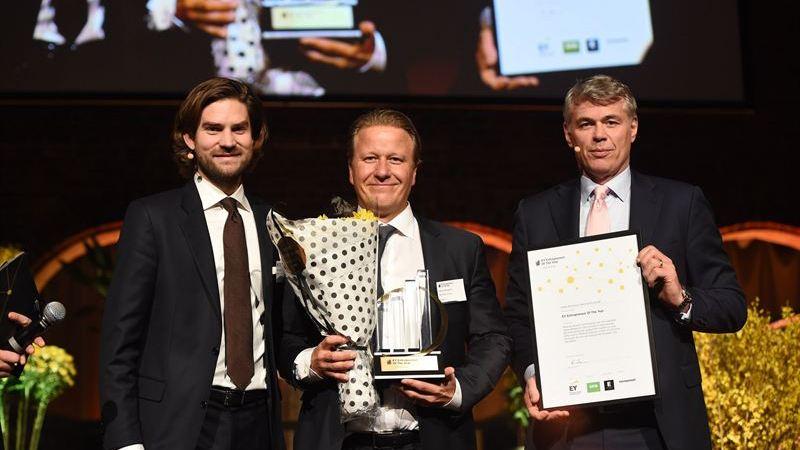 Fabian Bengtsson från Netonnet Group kan utses till världens främsta entreprenör