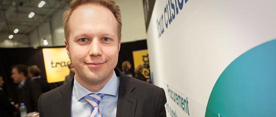 Konsta Saarela, försäljningschef på IBM-partnern Descom.