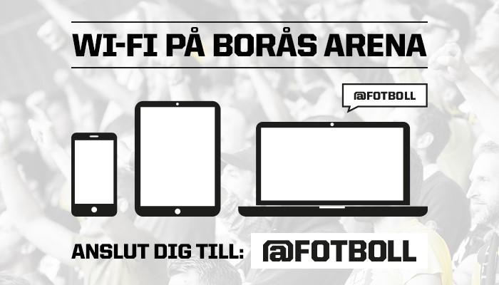 Ny arenateknik testas på Borås Arena