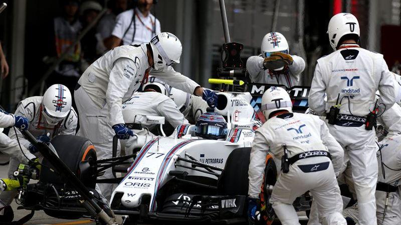 Avanade samlar in Biometrisk data från Williams Martins Racings depåpersonal