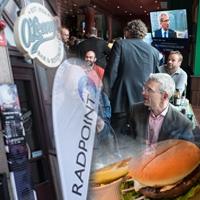 På fotbollskalas med Radpoint och Palo Alto Networks