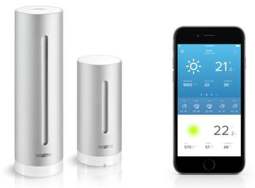 NETATMO Lanserar en ny APP till weather station för smartphone