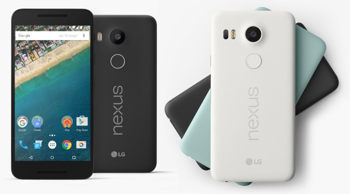 LG och GOOGLE Presenterar NEXUS 5X – I November kommer den