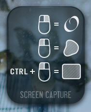 PRTSCR бағдарламасындағы скриншотты қалай таңдауға болады