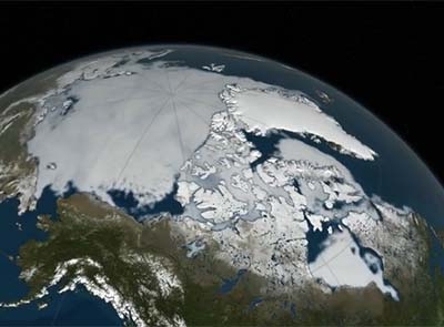 The alarming rate of ice melt