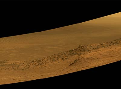 Rover breaks new ground on Mars