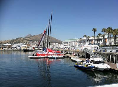 Yacht racing goes digital