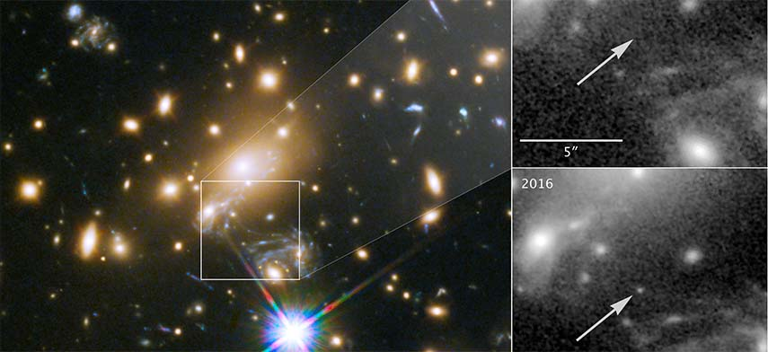 9bn years away, Icarus is the furthest star ever seen