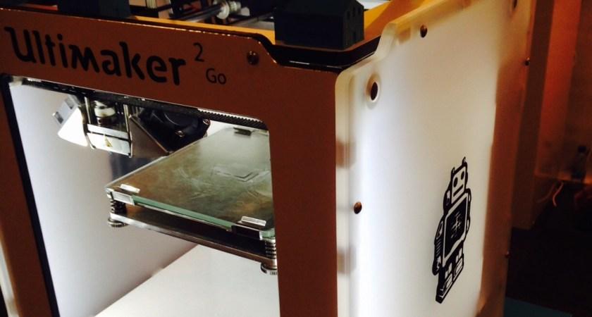 3D-skrivare i klassrummet kombinerar historia och modern teknologi