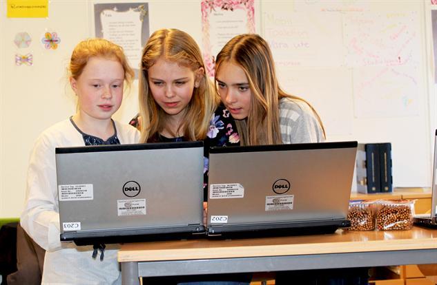 Programmering för flickor är en fråga om demokrati
