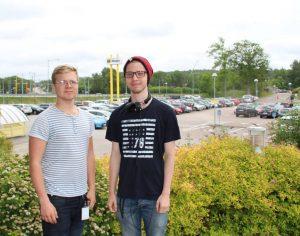 Tekniksprångarna Eric och David löste Hogias parkeringsbrist 2