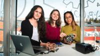 100 teknikintresserade gymnasietjejer från hela Sverige till Luleå