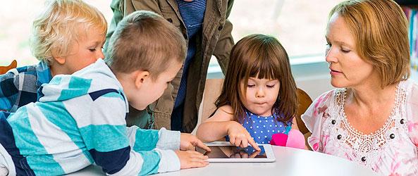 Fullsatt när förskolepedagoger ska lära sig om digitalisering