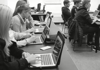 Digitala läromedel – en stor fördel för elever på resande fot på Malmö Idrottsgymnasium 3