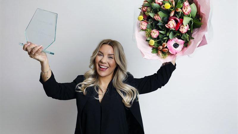 Årets influencer är Therese Lindgren, om studenterna får säga sitt.