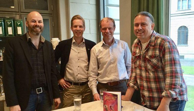 Lansering av spelet Tangle Math, som producerats av forskare vid Linköpings universitet ihop med astronauten Christer Fuglesang och East Sweden Game