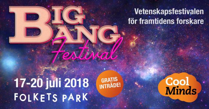 BIG BANG FESTIVAL - En vetenskapsfestival för framtidens forskare 1