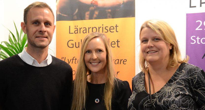 Tre speciallärare finalister till lärarpriset Guldäpplet