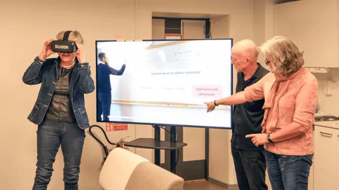 VR skapar nytt sätt att lära ut och skonar skolbarn