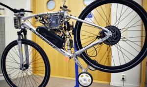 MDH-studenter utvecklar självkörande cykel och autonom sophämtningsrobot 1