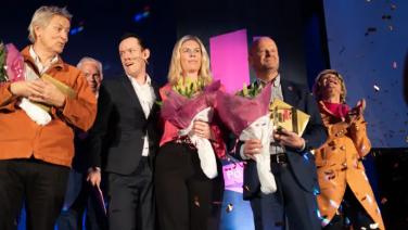 Lars Lerin och SBAB prisades i Örebro 1