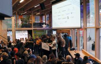 Elever vinner pris för framtidens bästa transportlösning 1