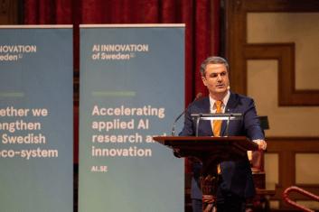 Sveriges nationella center för artificiell intelligens öppnar nod i Stockholm – nya partners och utökad finansiering aviseras 1