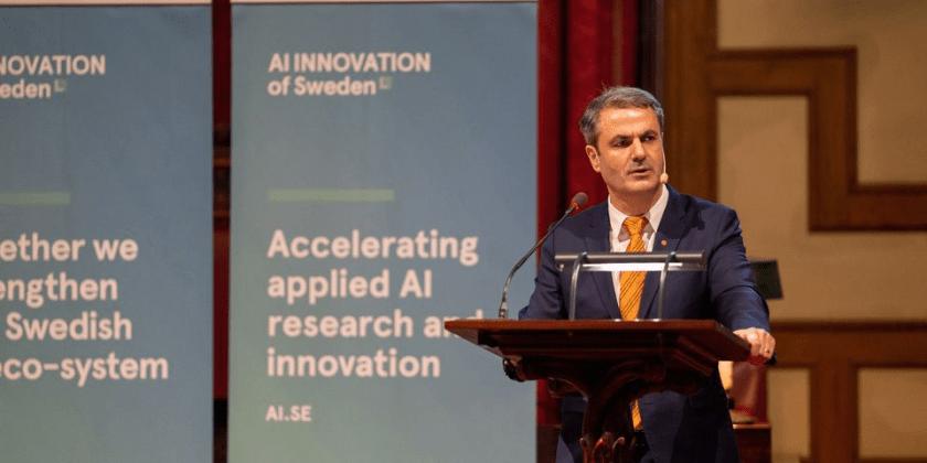 Sveriges nationella center för artificiell intelligens öppnar nod i Stockholm – nya partners och utökad finansiering aviseras