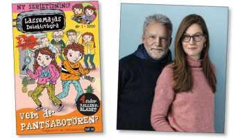 Sveriges mest sålda barnböcker blir serietidning 1