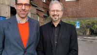 NTI Gymnasiets lärare Henrik Staaf prisas av Beijerstiftelsen