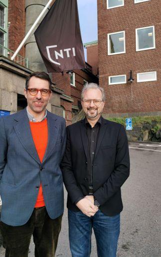 NTI Gymnasiets lärare Henrik Staaf prisas av Beijerstiftelsen 1