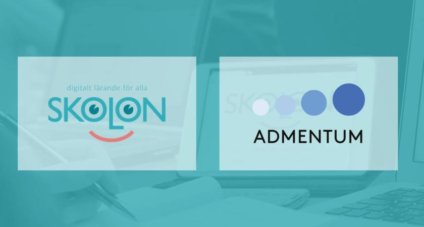 Modernt administrationssystem och digitala lärresurser knyts samman – Admentum och Skolon i samarbete