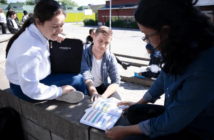 Läxhjälp ökar möjligheten till fortsatta studier för elever i Husby