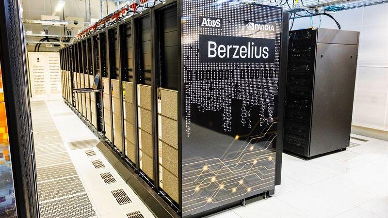 Sveriges snabbaste superdator för AI är invigd
