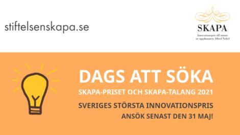 Är du Sveriges nästa mästare i innovation?