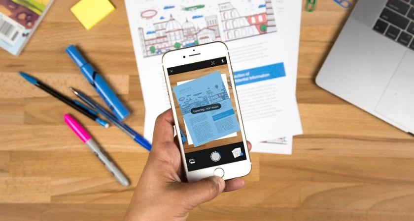 Adobe lanserar scanning-app som förvandlar skrynkliga kvitton till prydliga PDF-filer