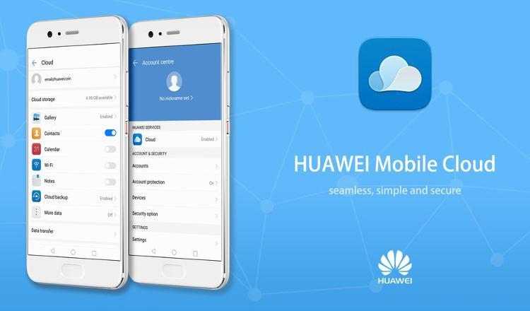 Huawei lanserar molntjänsten Mobile Cloud