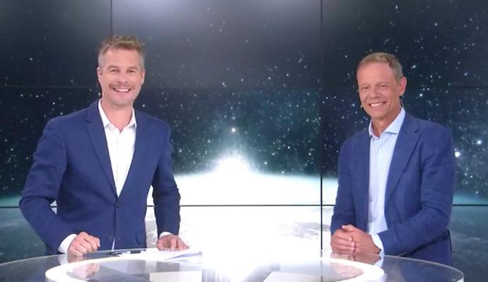 Simon Hällström blir först att uppleva tyngdlöshet och rymdpromenad i VR samtidigt