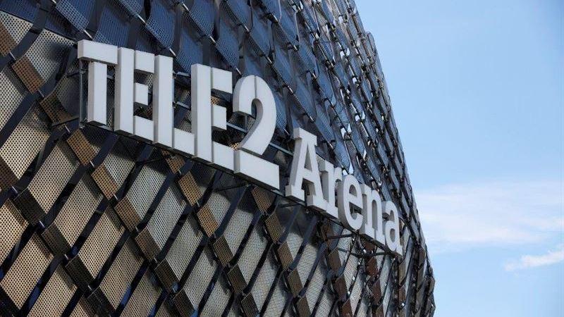 Tele2 firar fem års sponsorskap och miljontals besökare på Tele2 Arena