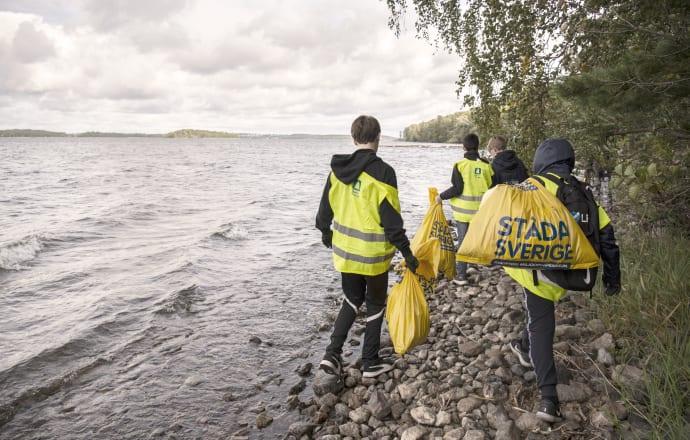Städa Sverige och ICA i nationellt städsamarbete