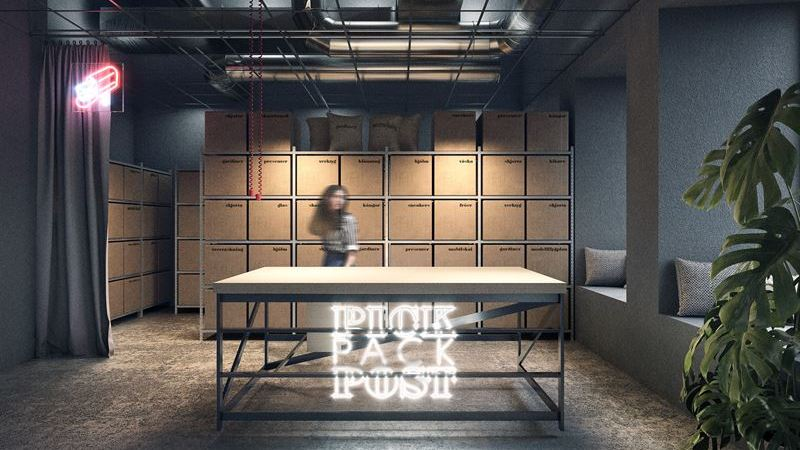 Diös lanserar paketombuds-konceptet PickPackPost i In:gallerian i Sundsvall