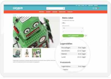 Starweb lanserar flerlagerstöd. Hantera flera lager och butiker i e-handeln. 1
